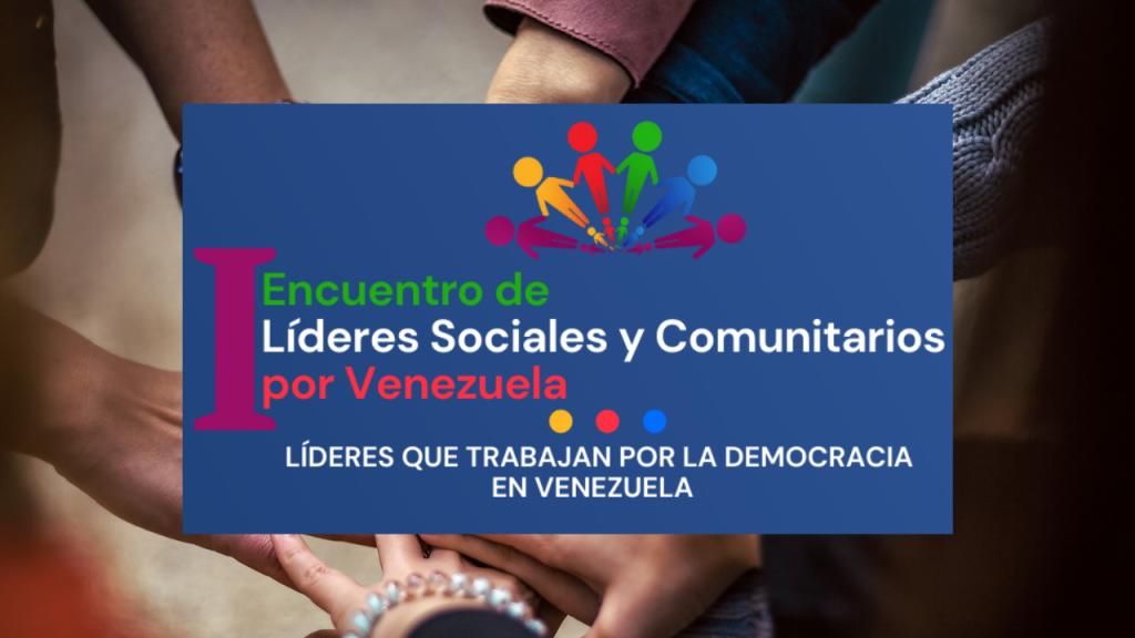Primer encuentro de líderes sociales y comunitarios